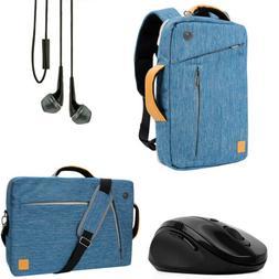 "15.6"" VanGoddy Laptop Backpack Messenger Bag Briefcase+ Earp"