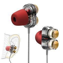 3.5mm In-Ear Earphones Bass Stereo Headphones Headset Earbud