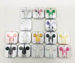 3.5mm In-Ear Earphones Headphone with MIC & Volume for iPhon