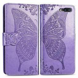 Ropigo 3D Butterfly Floral Flip Leather Kickstand Wallet Pro