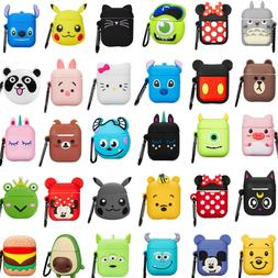 3D Cartoon Earphone Protective Silicone Cover For Apple Airp