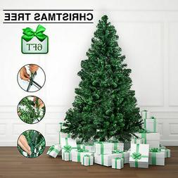 Festnight 6' FT Christmas Tree with Stand + 800 tips Artific