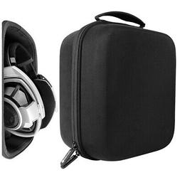 Full Size Hard Shell Large Headphone Case for Over-Ear, DJ,