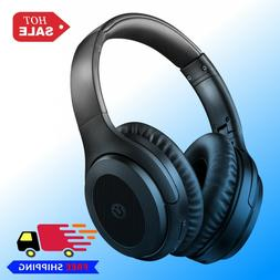 Utaxo Active Noise Cancelling Headphones Hi-Fi Sound Deep Ba
