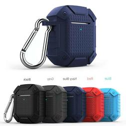 For Apple AirPods 2 Armor Case Heavy Duty Rubber Rugged Earp
