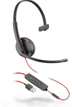 Plantronics Blackwire 3210 Black On The Ear Headsets