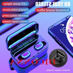 Bluetooth 5.0 Earbuds TWS Wireless Earphones Twins Headset S