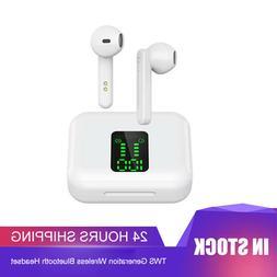 Bluetooth 5.0 Earbuds Wireless Earphones TWS Stereo Deep Bas