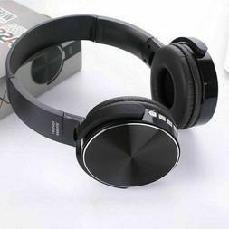 Bluetooth 5.0 Gaming Headset Wireless Earphone Over Ear Head