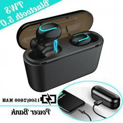 Bluetooth 5.0 Headsets TWS Wireless Earphones Twins Earbuds