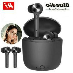 Bluetooth 5.0 Headset Wireless TWS Earbuds Touch Earphones i