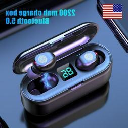 Bluetooth 5.0 Wireless In-Ear Headphones Earbuds Earphone fo