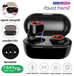 Bluetooth 5.0 Wireless Earbuds Earphone In-Ear Stereo Sweatp