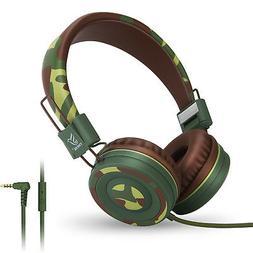 RockPapa Boys Girls Kids Childs Teens On Ear Headphones Earp
