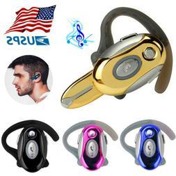 Business Ear Hook Earphone Wireless Bluetooth Headset for Mo