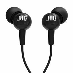 JBL C100SI BLACK In Ear Headphones Headset Stereo Earphone F