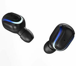 Compact Lightweight Bluetooth Earbuds Wireless 5.0 Headphone
