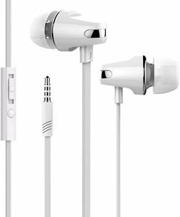 Earphones Headphones Stereo Earbuds with Mic & Remote Contro