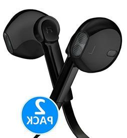 Earphones with Microphone Premium Earbuds Stereo Headphones