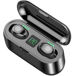 F9 Sport Waterproof TWS Bluetooth Noise Canceling Stereo Ear