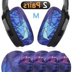 Geekria Flex Fabric Headphone Earpad Covers/Stretchable Wash