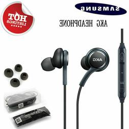 For Samsung Galaxy S9 S8 S8+ S7 Note9 8 AKG Headphones Heads