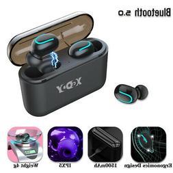 Mini TWS Bluetooth 5.0 Wireless HiFi Bass Stereo Mic Earphon