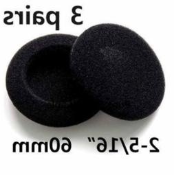 Headphone Earphone Earbud Ear Pad earpad Foam Cover 3 pairs
