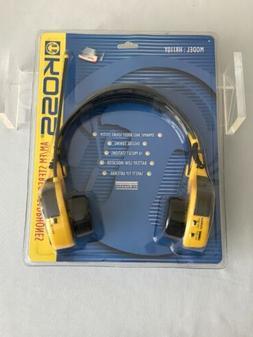 KOSS HR110Y AM/FM Stereo Radio Headset Headphones Digital Tu