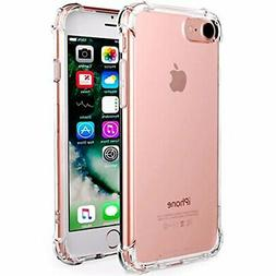 CaseHQ iPhone 7 Case, iPhone 8 Case,Crystal Clear Shock Abso