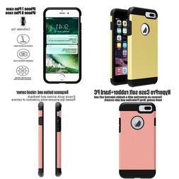 Iphone 7 Plus Case,Ibarbe Slim Extreme Heavy Duty Rugged Hyb
