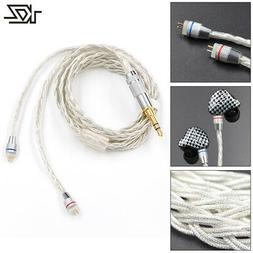 KZ Braided Headset Wire Earphone Cable for ZS3 ZS4 ZS5 ZS6 Z