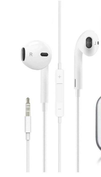 2 pack earbuds 3 5mm wired microphone
