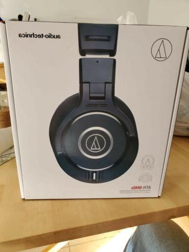 audio technica ath m40x over ear headphones