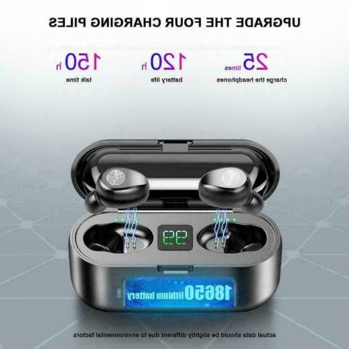 TWS Earbuds Bluetooth 5.0 Headset Earphones Stereo