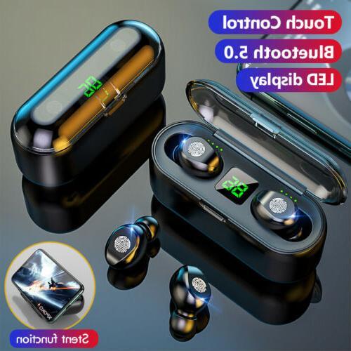Bluetooth 5.0 TWS Wireless Earphones Twins Earbuds