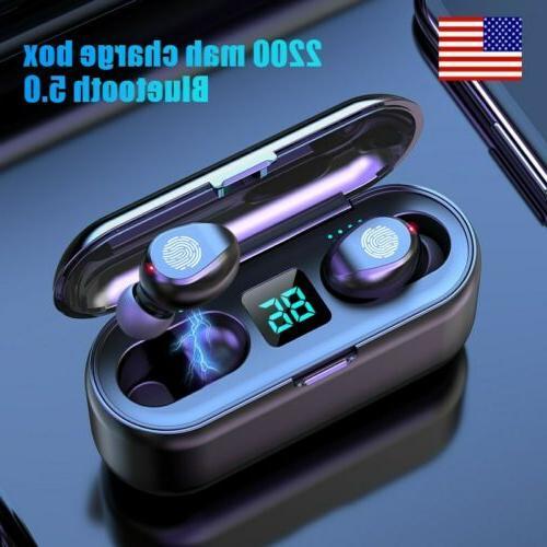 bluetooth 5 0 tws wireless earphones headset