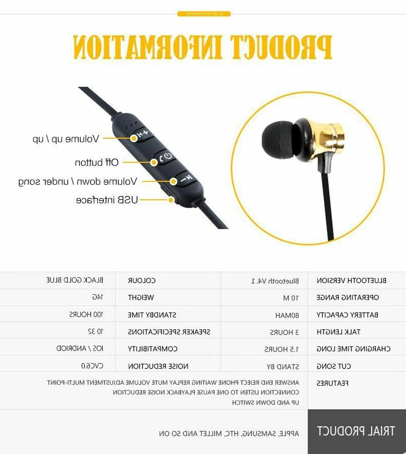 Bluetooth Android Earbuds