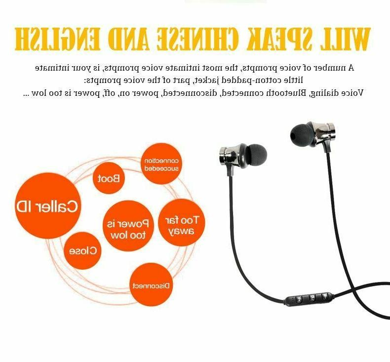 Bluetooth Earphones For iPhone Android Wireless Earbuds