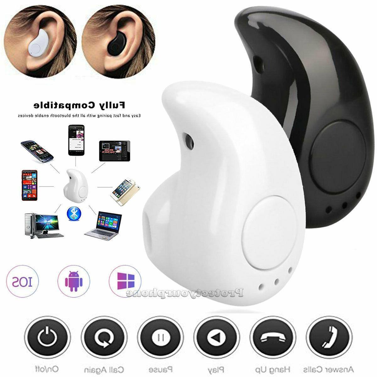 bluetooth headset wireless earbud earphone in ear