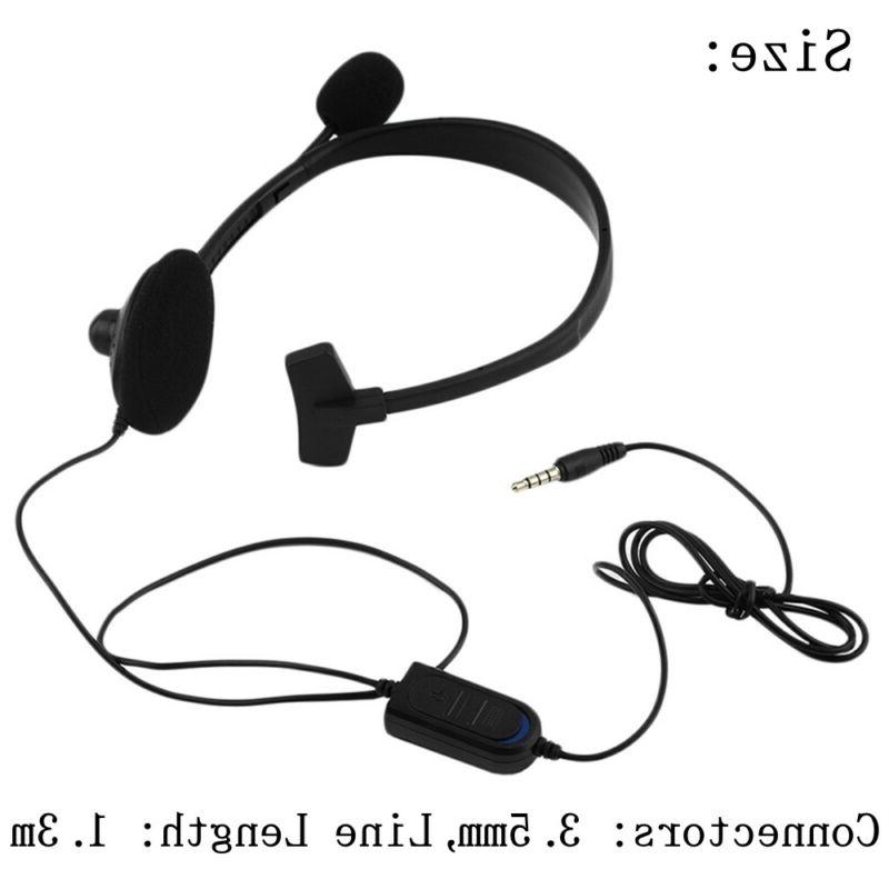 Earphone Mic Single Gaming Headsets