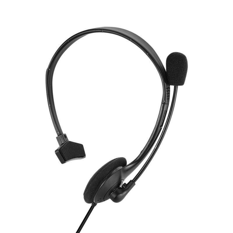 Earphone Mic Single ear Gaming Headphones
