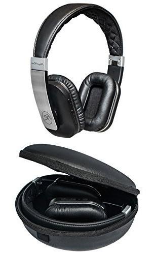 Floyd FR36BK Headphones, Silver/Black