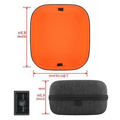 Geekria Large Headphone Case for HiFiMAN HE400i, HE400S, Grado PS1000e