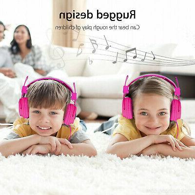 Kids Headphones Kids Girl Earphones iPad/Tablet