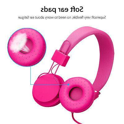 Kids Ear Headphones Kids Girl Earphones