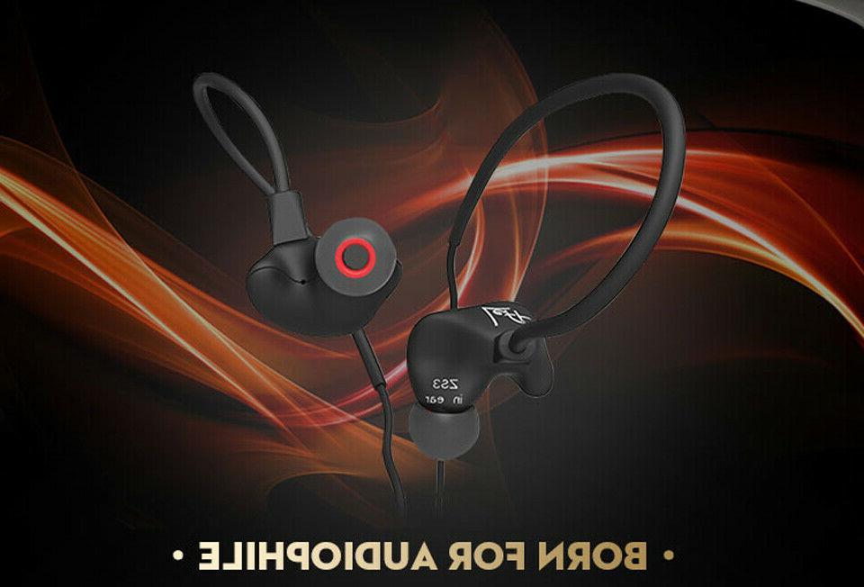 KZ ZS3 Headphone Ear Noise Headset Mic