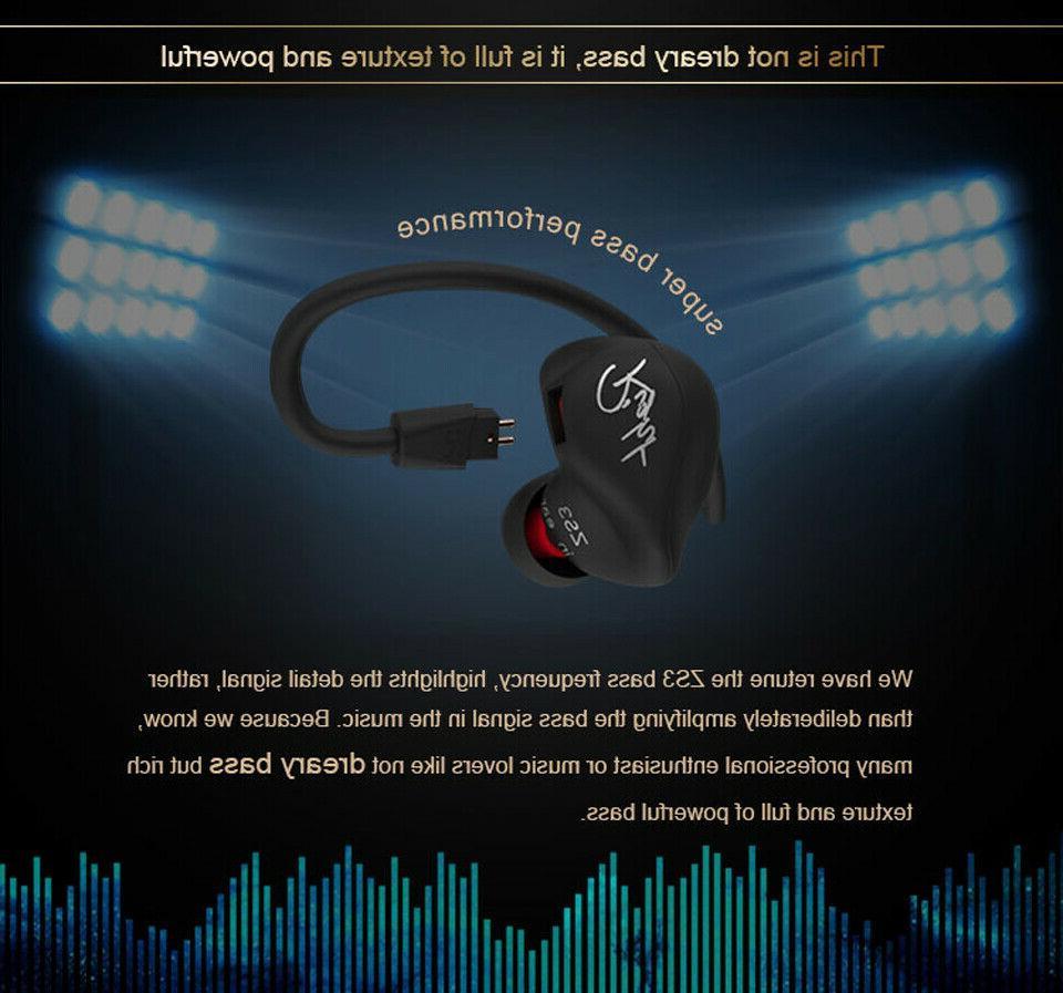 KZ Sport Headphone Ear Mic