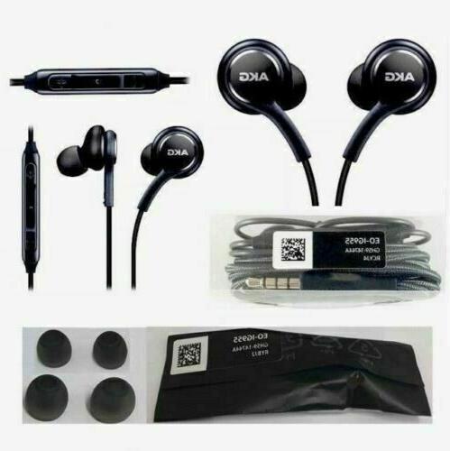 Original Samsung OEM AKG S8 S9 S10 Stereo Headphones Earphon