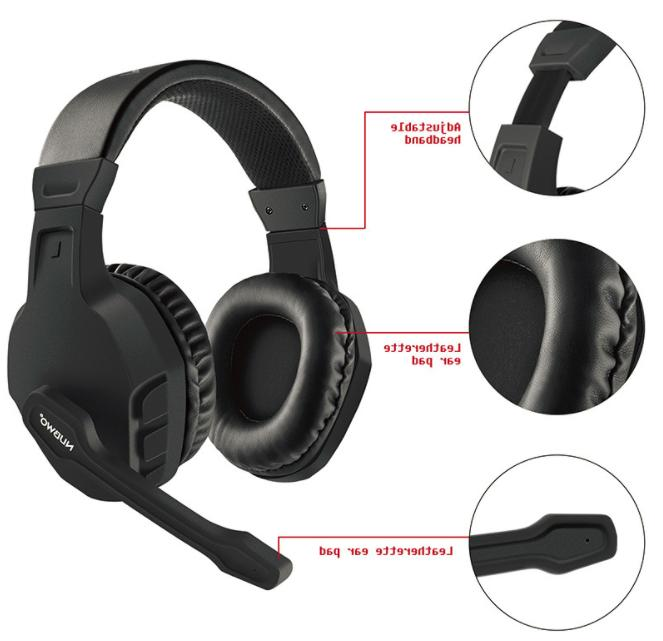 NUBWO Gaming Headsets Big with Mic Stereo